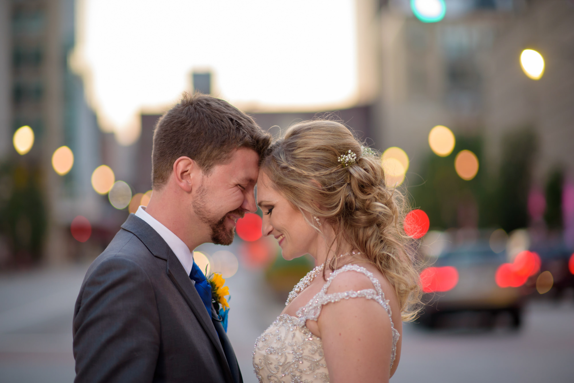 Bride Groom Chicago Congress Pkwy