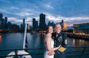 Bride Groom Odyssey Navy Pier