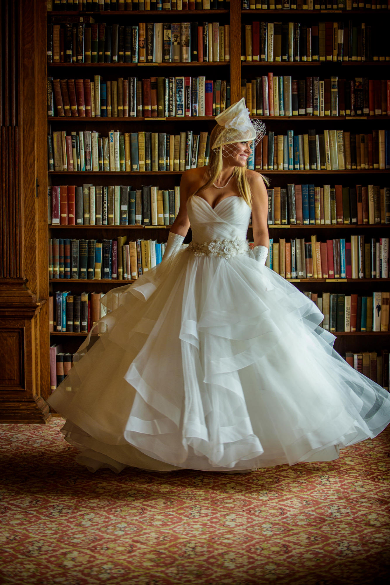Bride University Club of Chicago Library