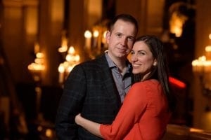 Chicago Engagement Palmer House