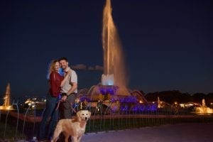 Engagement Chicago Buckingham Fountain